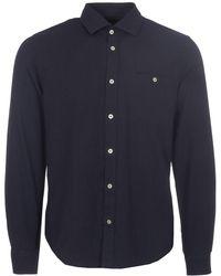 Matíníque - Dark Navy Trostol R Flannel Shirt - Lyst