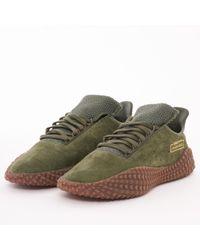 adidas Originals - Kamanda 01 - Base Green & Crystal White - Lyst