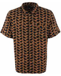ed95956a17bd Levi s - Pajama Shirt - Brush Stroke Multi - Lyst