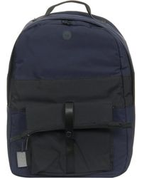 Folk - Folk Pocket Navy Backpack - Lyst