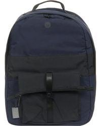 Folk - Folk Pocket Navy Backpack - Lyst