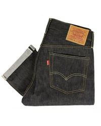 Levi's - Levis Vintage 1954 Jeans Rigid Shrink To Fit 501 Zxx Unwashed - Lyst