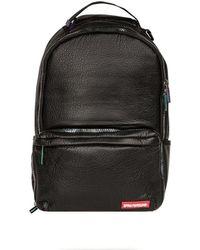 Sprayground - Leather Iridescent Trainer Cargo Backpack - Black - Lyst