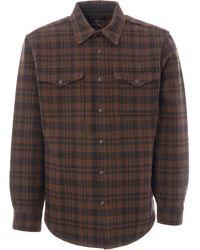 Filson - Beartooth Jac-shirt - Dark Brown & Charcoal - Lyst