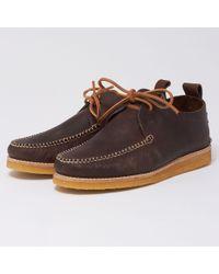 Yogi - Lawson Leather Shoes - Chocolate - Lyst