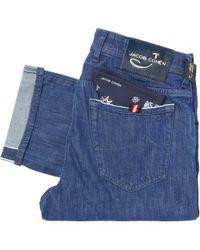 Jacob Cohen - J688 Limited Edition Comfort Selvedge Denim Jeans - Lyst
