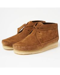 Clarks - Weaver Boot- Cola - Lyst