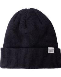 Norse Projects - Norse Top Beanie - Dark Navy - Lyst