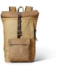 Filson - Roll-top Backpack - Tan - Lyst