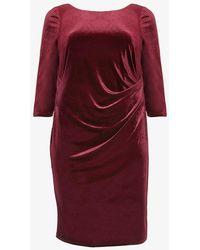 Studio 8 - Lindsay Velvet Dress - Lyst