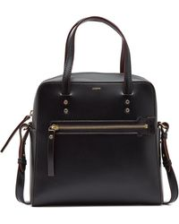 JOSEPH Leather Ryder 25 Bag in Black - Lyst c716bbc3aaa95
