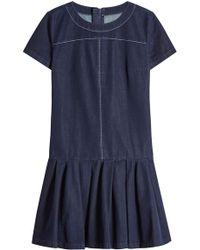 HUGO - Denim Dress - Lyst