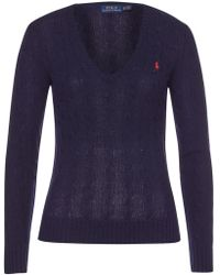 Polo Ralph Lauren - Kimberly Merino Wool Pullover With Cashmere - Lyst