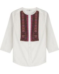 Day Birger et Mikkelsen - Cotton Cambric Blouse - Lyst