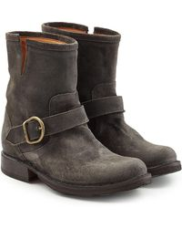 Fiorentini + Baker - Suede Ankle Boots - Lyst