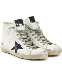 Golden Goose Deluxe Brand - High Top Sneakers Francy aus Leder - Lyst