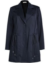 Nina Ricci - Cotton Jacket With Drawstring Ties - Lyst