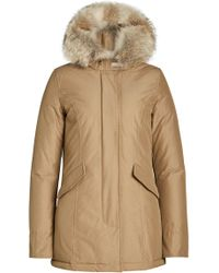 Woolrich | Arctic Down Parka With Fur-trimmed Hood | Lyst