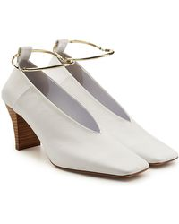 Jil Sander - Tripon Leather Court Shoes - Lyst