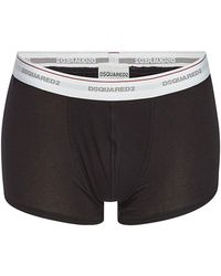 DSquared² - Pack Of 3 Cotton Boxers - Lyst