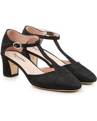 Repetto | Giulieta Suede Court Shoes | Lyst