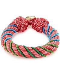 Aurelie Bidermann - Bracelet With Glass Beads - Lyst