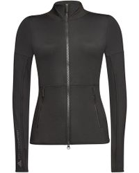adidas By Stella McCartney - Performance Midlager Essentials Zipped Top - Lyst