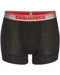 DSquared² - Pack Of 2 Jersey Boxers - Lyst