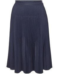 Maison Margiela - Pleated Skirt With Cut-out Detail - Lyst