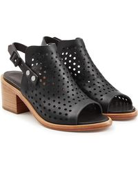 Rag & Bone | Perforated Leather Sandals | Lyst