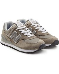 New Balance - Ml574 Trainers With Suede And Mesh - Lyst