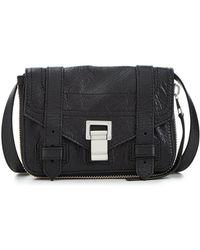 Proenza Schouler - Ps1 Mini Crossbody Leather Bag - Lyst