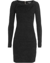 Jitrois - Suede Mini Dress - Lyst