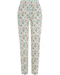 Vanessa Bruno Athé - Printed Trousers - Lyst
