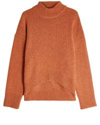 Brock Collection - Cashmere Pullover With High-low Hemline - Lyst