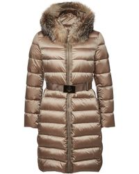 Moncler - Tinuviel Quilted Down Coat With Fur-trimmed Hood - Lyst