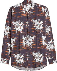 Our Legacy - Printed Cotton Shirt - Lyst