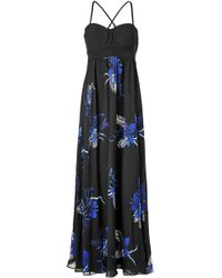 Proenza Schouler - Anniversary Collection Floor-length Printed Gown - Lyst