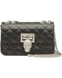 0c1e7657f8 Philipp Plein - Quilted Shoulder Bag With Crystals - Lyst