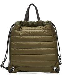 Moncler - New Kinly Drawstring Backpack With Leather - Lyst