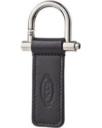 Tod's - Leather Keychain - Lyst