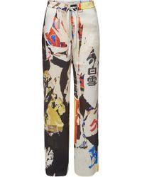 Marques'Almeida - Pyjama Printed Trousers - Lyst