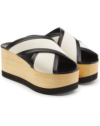 Isabel Marant - Wedges With Leather - Lyst