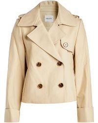 Khaite - Bianca Cotton Jacket - Lyst