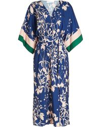 Borgo De Nor - Printed Dress - Lyst