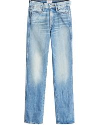 FRAME | Rigid Re-release Le High Straight Jeans | Lyst