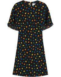 Sonia Rykiel - Bird Print Dress - Lyst