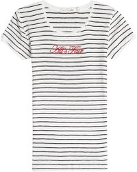 Rag & Bone - All's Fair Embroidered Cotton T-shirt - Lyst
