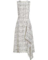 Rosetta Getty - Gemustertes Kleid aus Tweed - Lyst