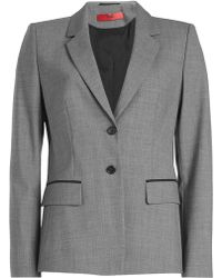 HUGO - Virgin Wool Blazer - Lyst